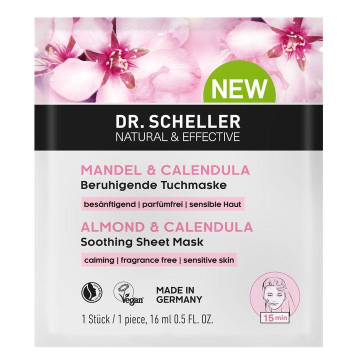 Dr. Scheller Маска против бръчки с бадем и невен за чувствителна кожа х16 мл