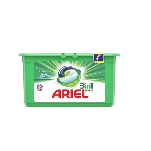 Ariel 3in1 Mountain Spring Капсули за пране