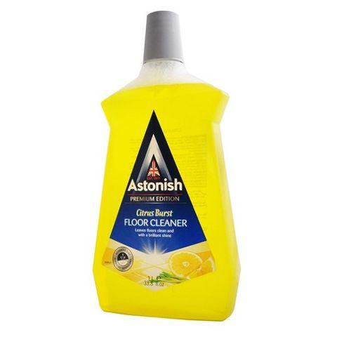 Astonish Citrus Burts Почистващ препарат за под с аромат на цитрус x1 литър