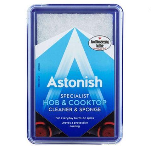 Astonish Cleaner & Sponge Почистваща паста с гъба за керамични и емайлирани печки x250 грама