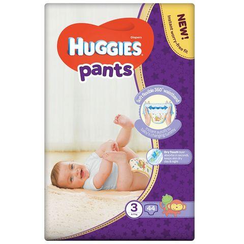 Huggies Pants 3 Пелени - гащички за бебета и деца 6-11кг х44 броя