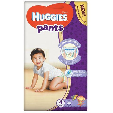 Huggies Pants 4 Пелени - гащички за бебета и деца 9-14кг х36 броя
