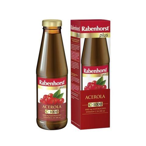Rabenhorst Plus Натурален сок от ацерола с витамин С х450 мл