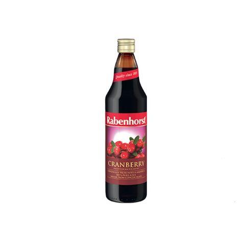 Rabenhorst Cranberry Натурален сок от Червена боровинка x750 мл