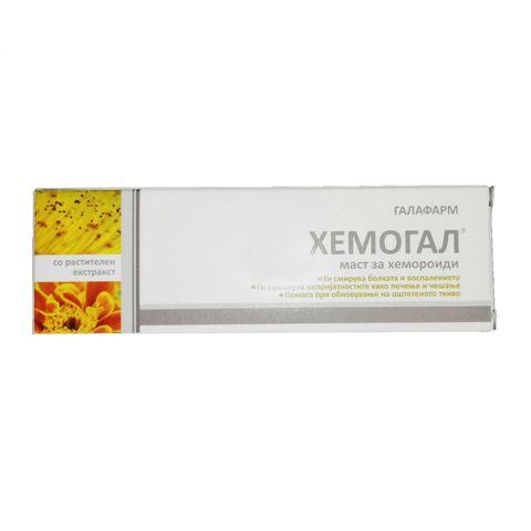 Galafarm Хемогал Крем при хемороиди х20 грама
