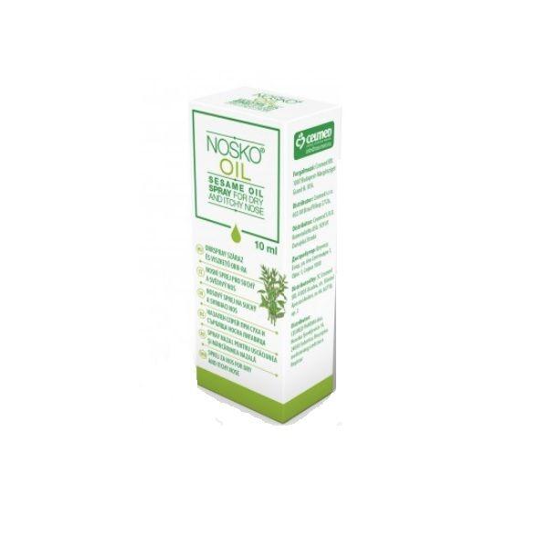 Nosko Oil Спрей със сусамово масло за суха и сърбяща носна лигавица х10 мл Ceumed
