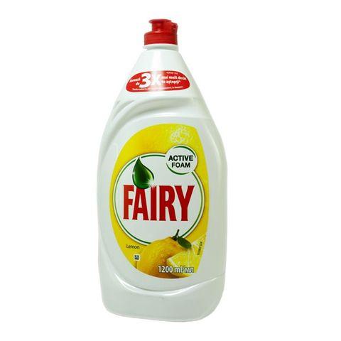 Fairy Lemon Почистващ препарат за съдове x1200 мл