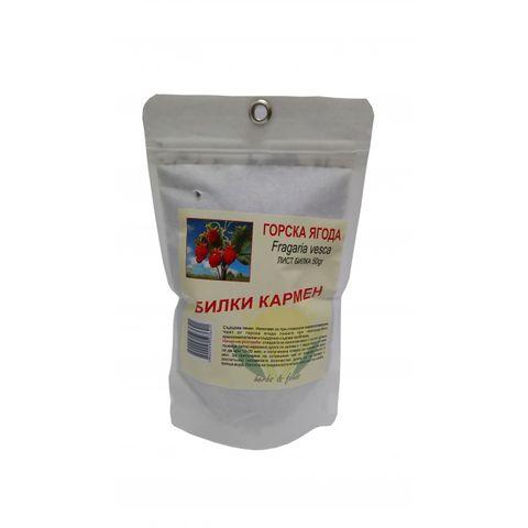 Горска ягода лист х50 грама Билки Кармен