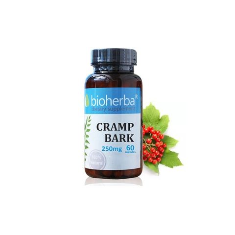 Bioherba Cramp Bark За здрав черен дроб 250 мг х60 капсули