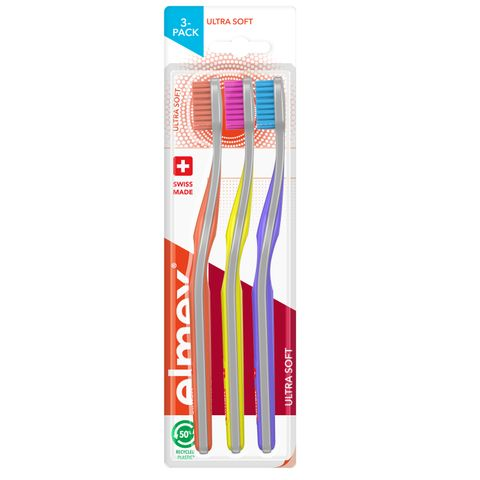 Elmex Ultra Soft Четка за зъби х3 броя