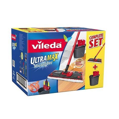 Vileda UltraMax Комплект моп и кофа за почистване