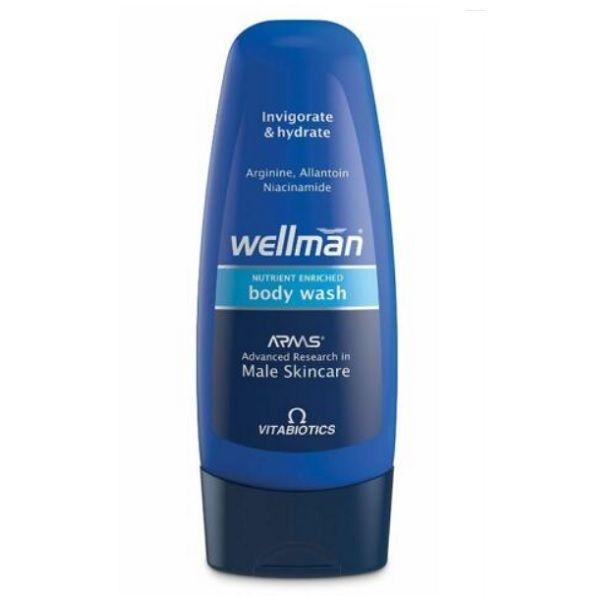 VitaBiotics Wellman Body Wash Подхранващ душ гел за мъже х250 мл
