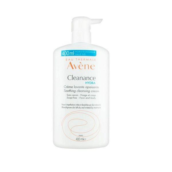 Avene Cleanance Hydra Успокояващ измивен крем за лице и тяло х400 мл