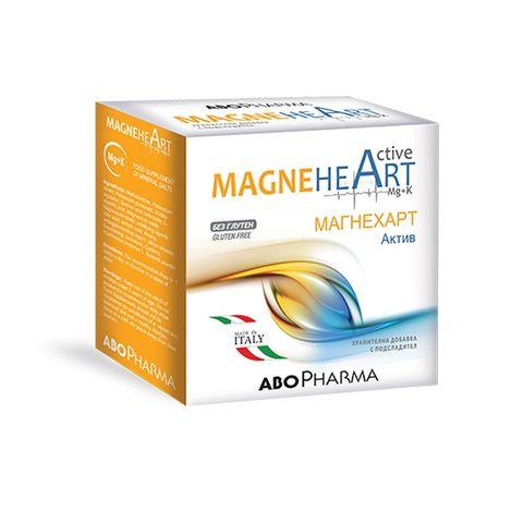 Магнехарт Актив За добър енергиен метаболизъм х20 сашета Abopharma