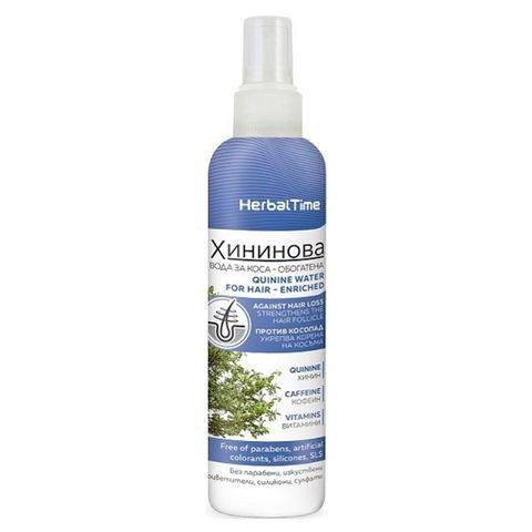 Herbal Time Хининова вода за коса против косопад х200 мл
