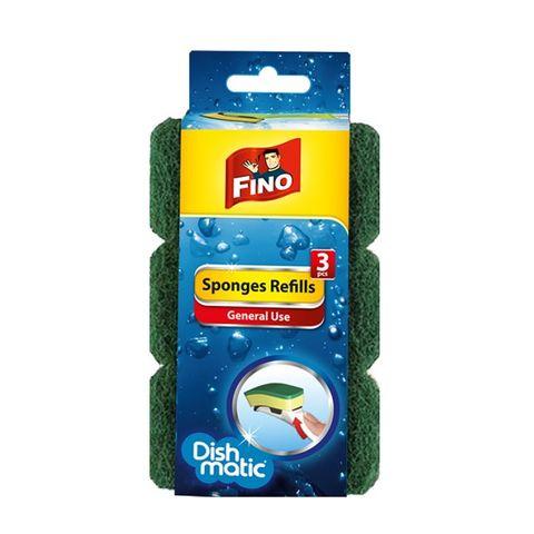 Fino Dishmatic Sponges Refills General Use Домакинска Гъба с общо предназначение x3 броя