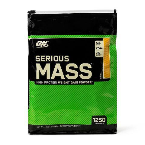 Optimum Nutrition Serious Mass Гейнър Банан х5,44 кг