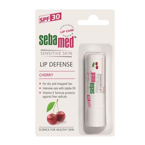 Sebamed Lip Defense Cherry Защитен балсам за устни с череша х4.8 грама
