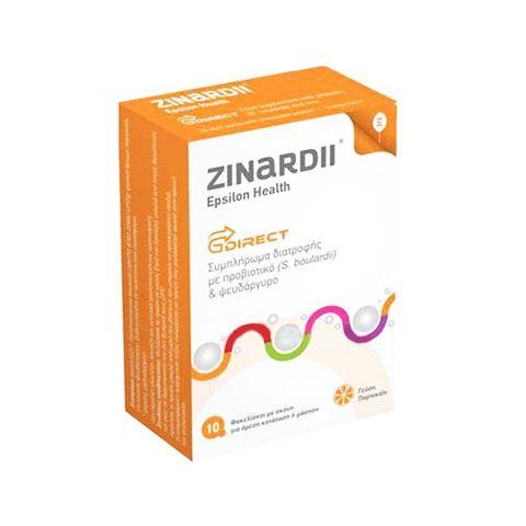 Zinardii Пробиотик за нормална чревна флора с вкус на портокал х10 сашета