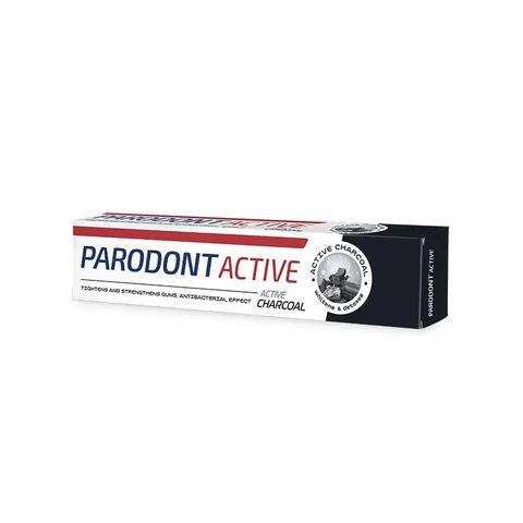 Astera Parodont Active Charcoal Паста за зъби с активен въглен х75 мл