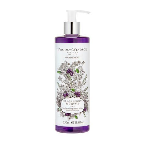 Woods of Windsor Течен сапун за ръце с аромат на къпина и мащерка х350 мл