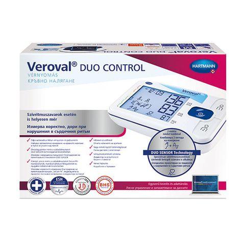 Hartmann Veroval Duo control М Апарат за измерване на кръвно налягане на ръката над лакътя