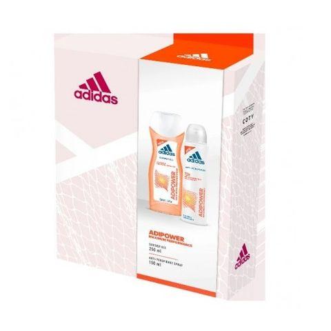 Adidas Adipower Промо комплект за жени Дезодорант и Душ гел за тяло