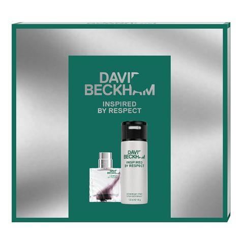 David Beckham Inspired by Respect Промо комплект за мъже Тоалетна вода и Дезодорант