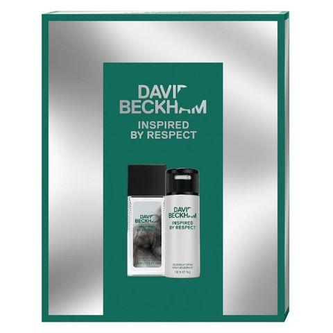 David Beckham Inspired by Respect Промо комплект за мъже Тоалетен спрей и Дезодорант