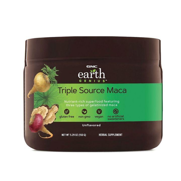GNC Earth Genius Triple Source Maca Повишава либидото х150 грама