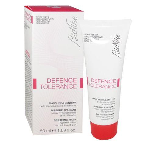 Bionike Defence Tolerance Успокояваща маска за свръхчувствителна и нетолерантна кожа х50 мл