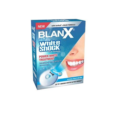 BlanX White Shock LED система и гел паста за избелване х50мл