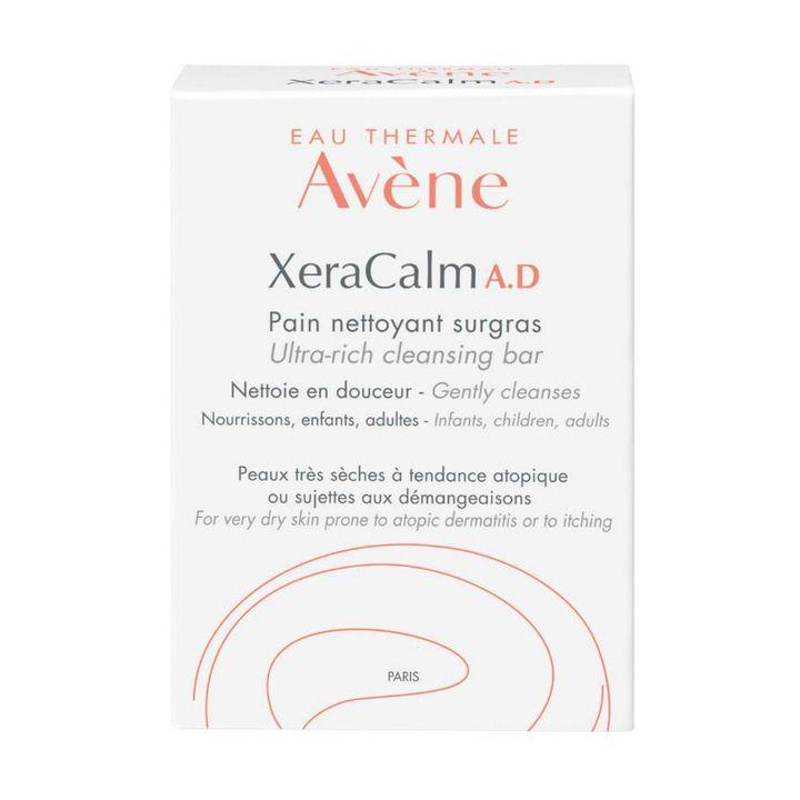 Avene XeraCalm A.D. Свръхобогатен сапун за много суха, чувствителна и склонна към атопия и сърбежи кожа х100 грама