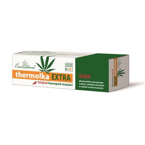 Cannaderm Thermolka Extra Загряващ гел при болки и схващания х150 мл