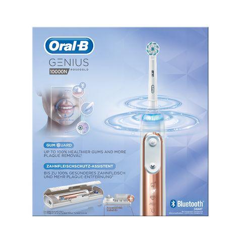 Oral B Genius 10000N Rosegold Електрическа четка за зъби, цвят Rosegold х1 брой