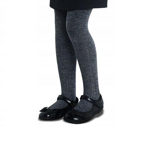 Penti Pretty Extra Cotton 90 Den Детски чорапогащник, цвят Grey, размер 11-13 години x1 брой