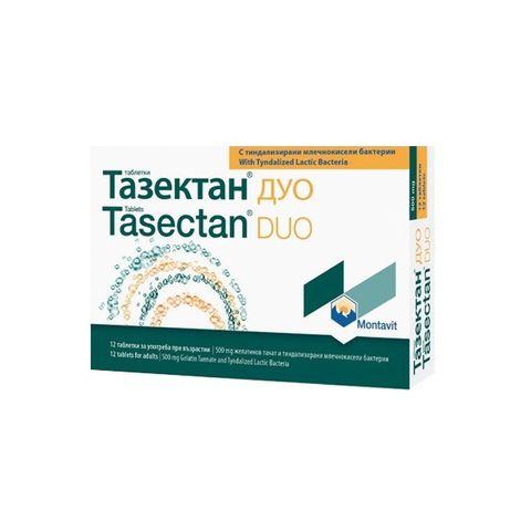 Montavit Тазектан Дуо при диария 500 мг х12 таблетки