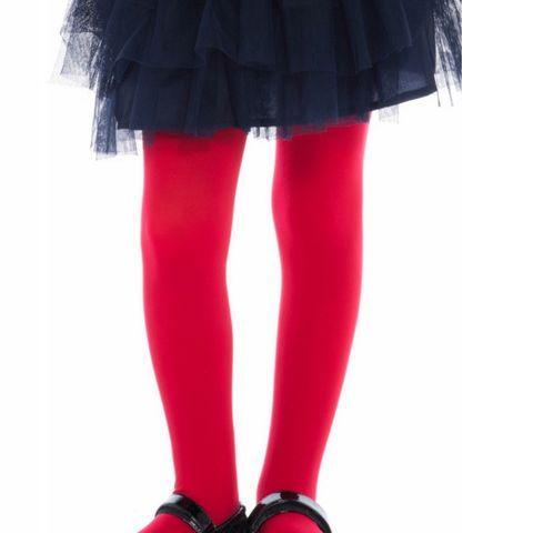 Penti Pretty Micro 40 DEN Детски чорапогащник, цвят Red, размер 11-13 години x1 брой