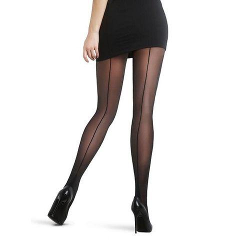 Penti Trendy Nostalji 20 DEN Черен дамски чорапогащник с ръб, цвят Black, размер XL х1 брой