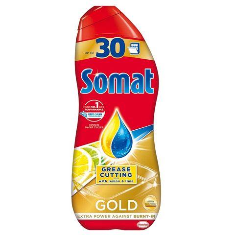 Somat Gold Grease Cutting Гел за съдомиялна с лимон и лайм x540 мл