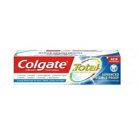 Colgate Total Advanced Visible Proof Избелваща паста за зъби х75 мл