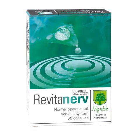 Magnalabs Revitanerv При стрес и напрежение х30 капсули