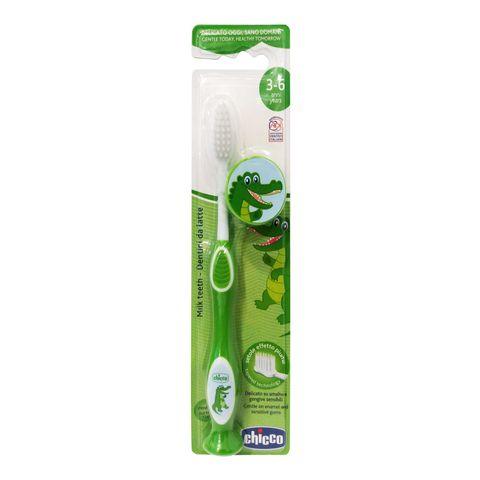 Chicco Четка за млечни зъби за деца от 3 до 6 години