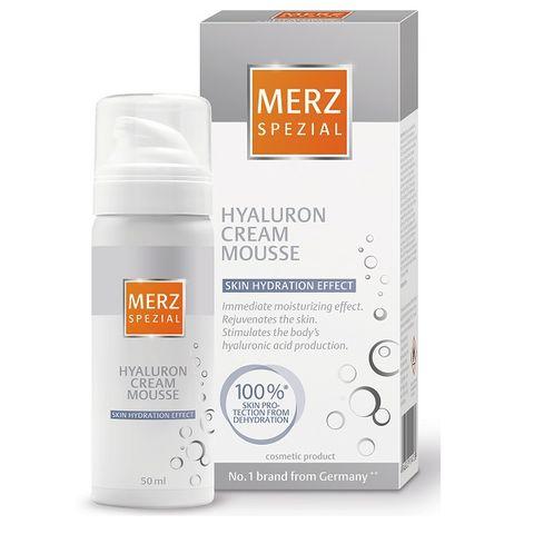 Merz Spezial Hyaluron Крем-мус за лице с хиалурон x50 мл