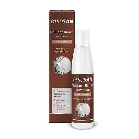 Parusan Brown Шампоан против косопад за кестенява коса с подсилващ цвета ефект х200 мл