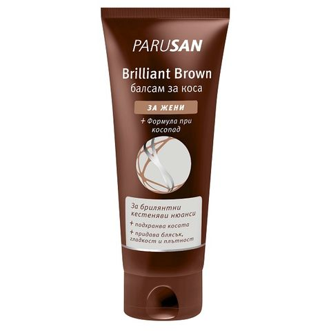 Parusan Brown Подхранващ балсам за кестенява коса с подсилващ цвета ефект х150 мл