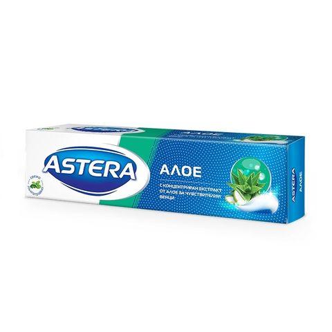Astera Успокояваща паста за чувствителни зъби с алое х100 мл