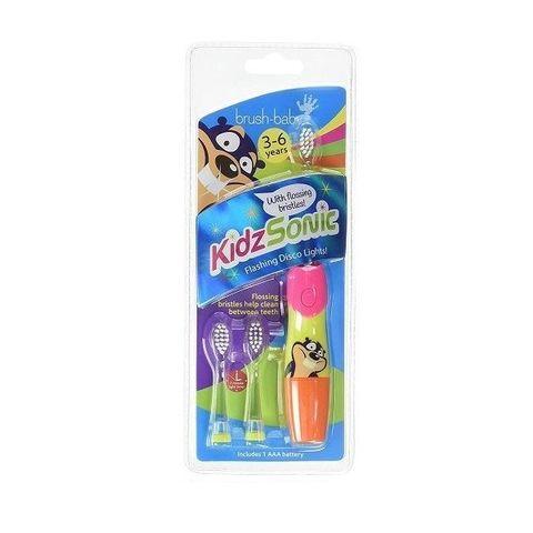 Brush-baby KIdzSonic Електрическа четка за зъби за деца от 3 до 6 години