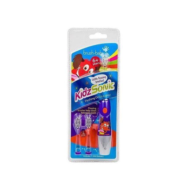 Brush-baby KIdzSonic Електрическа четка за зъби за деца над 6 години