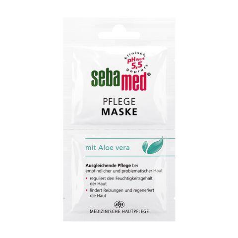 Sebamed Хидратираща маска за лице за чувствителна кожа с алое вера 2х5 мл